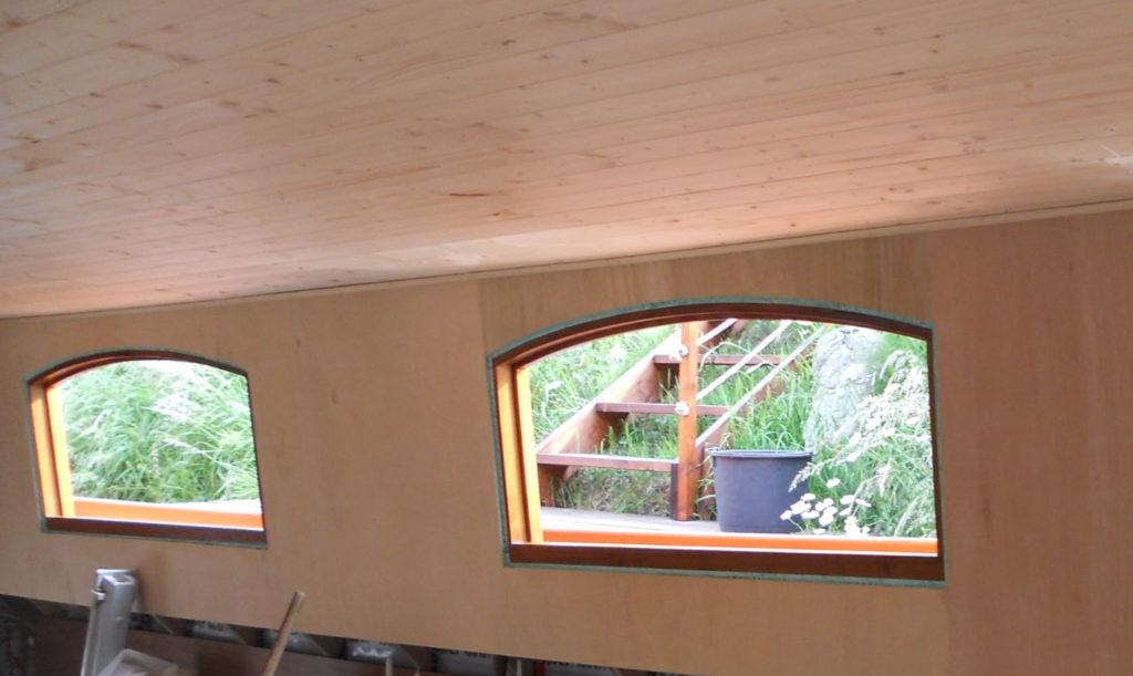 Betimmering binnen, wanden en plafond
