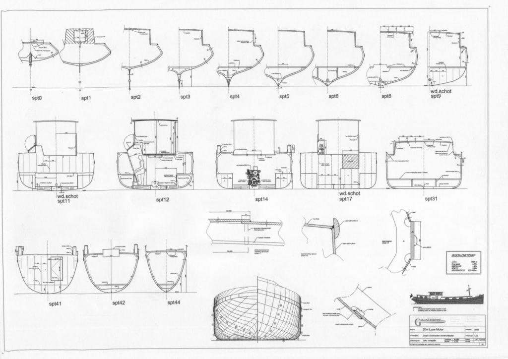 Constructieplan luxe motor Eiland